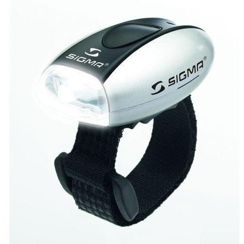 Sigma micro light - przednia lampa rowerowa (srebrny)