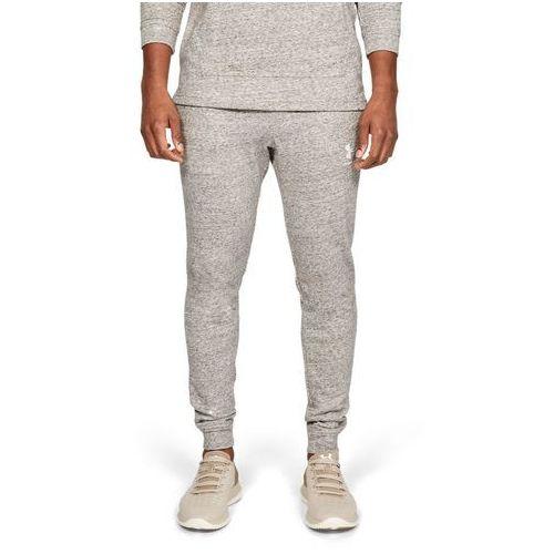 spodnie dresowe sportowe sportstyle terry jogger szare - szary marki Under armour