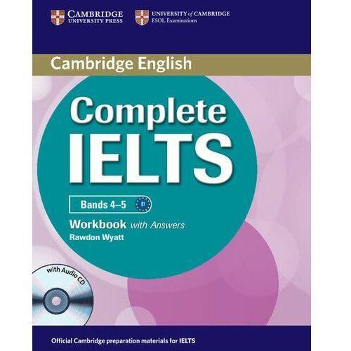 Complete IELTS Bands 4-5 Zeszyt Ćwiczeń z Odpowiedziami Plus Audio CD (2012)