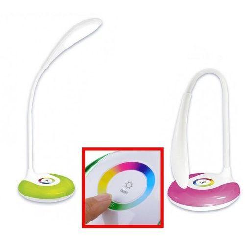 Lampka biurkowa AJE WEGA biała RGB LED ACTIVEJET Lampki