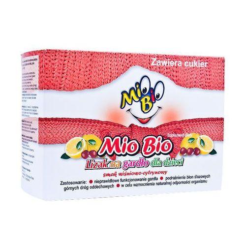 Mio Bio Lizak na gardło dla dzieci b/cukru