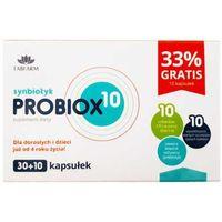 Probiox 10 Synbiotyk 10 miliardów CFU 30 + 10 kapsułek Tabfarm (5906395316038)