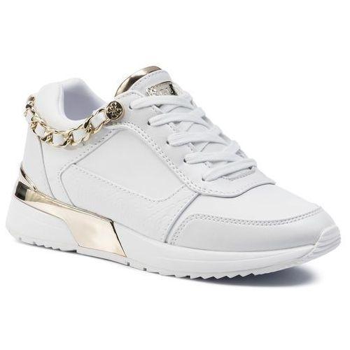 Sneakersy GUESS - Mian2 FL7MI2 ELE12 WHITE, kolor biały