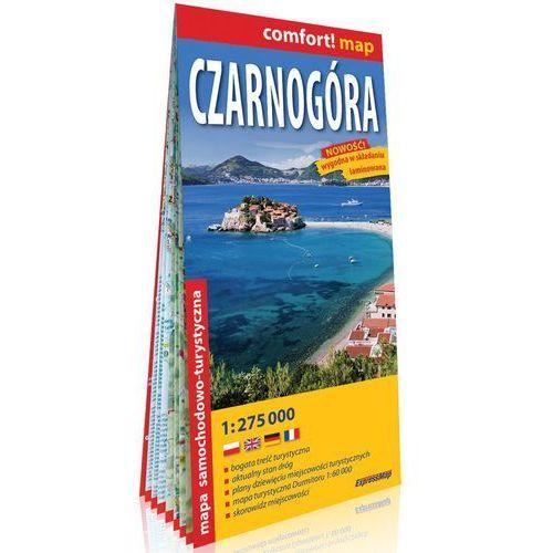 Czarnogóra laminowana mapa samochodowo-turystyczna 1:275 000 - Praca zbiorowa, praca zbiorowa