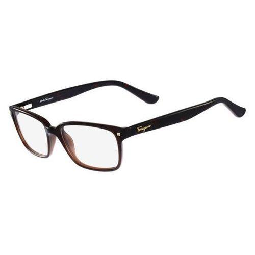 Salvatore ferragamo Okulary korekcyjne sf 2733 210