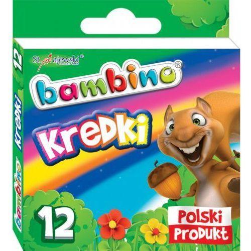 St-majewski spółka akcyjna Kredki 12 kolorów bambino (5903235000225)