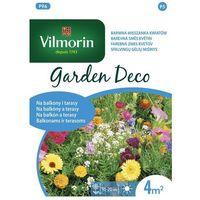 Vilmorin Kwiaty niskie na balkony i tarasy: niecierpek, maczek kalifornijski, nagietek 8g