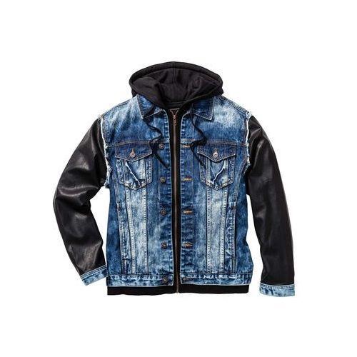 """Kurtka dżinsowa Regular Fit bonprix niebieski """"stone used"""", jeans"""
