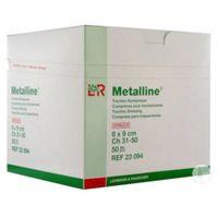 Metalline - opatrunek pod rurkę tracheostomijną 8x9 cm 1 szt.