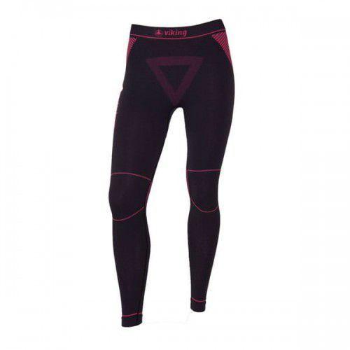 Getry termoaktywna damskie alisa pants 46 czarno/różowy marki Viking