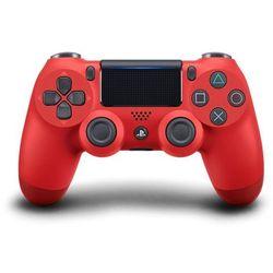 SONY gamepad PS4 DualShock 4 czerwony V2, (P