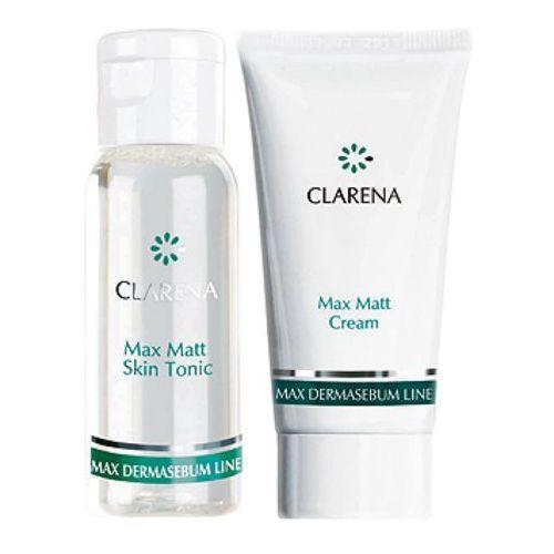 Clarena max dermasebum mini set zestaw mini kosmetyków (0036) - zdjęcie
