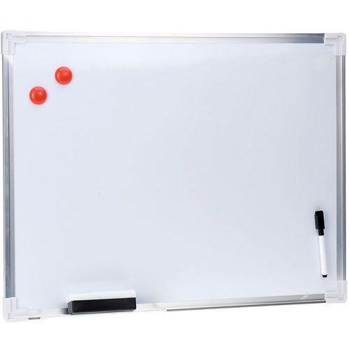 Emako Biała, magnetyczna tablica na notatki + akcesoria, 60 x 45 cm (8711295821929)