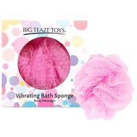 Wibrująca gąbka do kąpieli - Big Teaze Toys Bath Sponge Vibrating Różowy