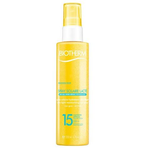 Biotherm sun sea wind reapir ultra-light sun spray spf15 preparat do opalania ciała 200 ml dla kobiet - Ekstra oferta