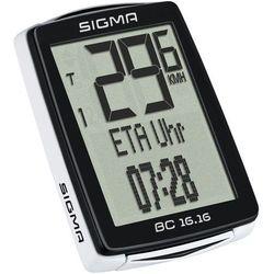 bc 16.16 - wielofunkcyjny licznik rowerowy przewodowy marki Sigma