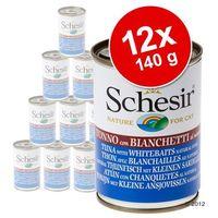 Schesir tuńczyk z wołowiną w galaretce 140g (8005852270115)