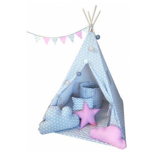 Namiot tipi dla dzieci z oświetleniem 4 wzory - Somit, namiottipizestawsupergold