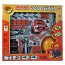 Gazelo toys Duży zestaw narzędzi z wyrzynarką dla majsterkowicza 42 elementy  5907773973423  DUŻY