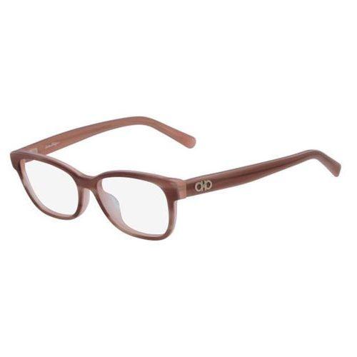 Salvatore ferragamo Okulary korekcyjne sf 2788 651
