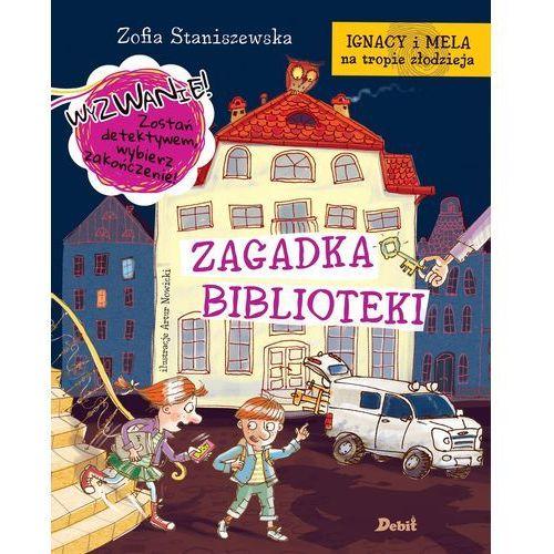 Zagadka biblioteki. Ignacy i Mela na tropie złodzieja - Zofia Staniszewska (64 str.)