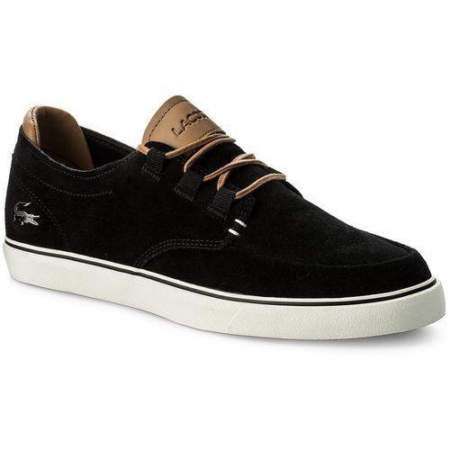 8ef2fe00 Sneakersy LACOSTE - Esparre Deck 118 1 Cam 7-35CAM0027CA1 Blk/Lt Brw -