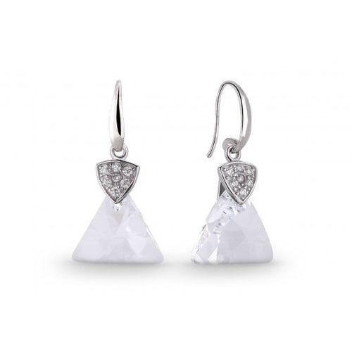 ankabizuteria.pl Eleganckie kolczyki srebrne swarovski biżuteria ślubna