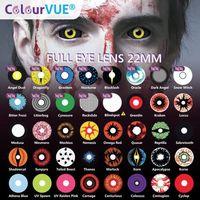 Colourvue crazy lens screla 2 szt. (zerówki) marki Maxvue vision