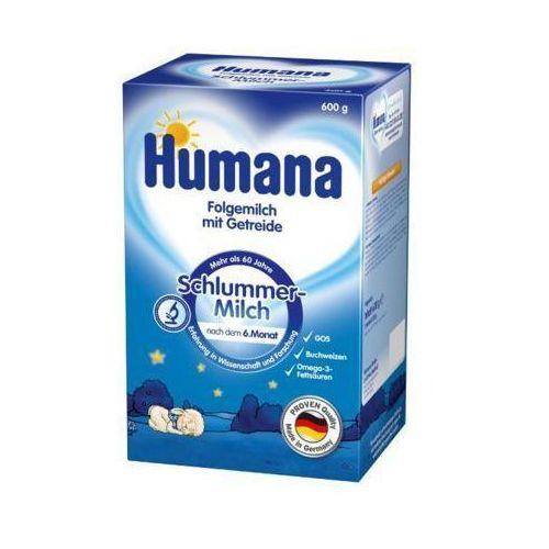 HUMANA 600g Na dobranoc Mleko następne z dodatkiem zboża po 6 miesiącu