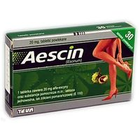 Aescin 20mg 30 tabletek (5909990202119)