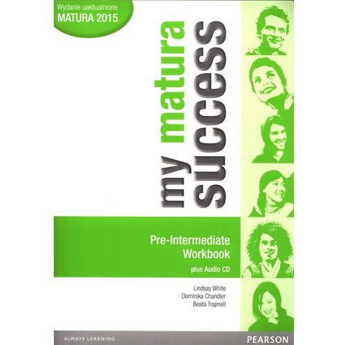 My matura Success Pre Intermediate Workbook + CD (9788378821762)