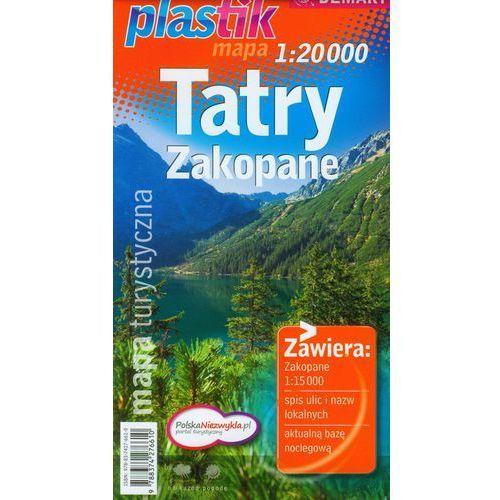 Tatry Zakopane mapa turystyczna - DODATKOWO 10% RABATU i WYSYŁKA 24H! (9788374276610)
