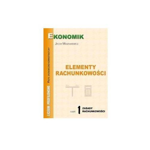 Elementy rachunkowości cz. 1 Zasady rachunkowości (BPZ) - Andrzej Komosa (2004)