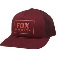 Fox czapka z daszkiem lady heater cranberry