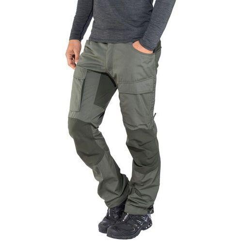 authentic ii spodnie długie mężczyźni regular szary 58-standardowe 2018 spodnie turystyczne marki Lundhags
