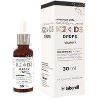 Naturalna Witamina K2+D3 Drops 30ml