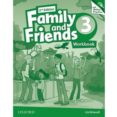 Family and Friends 2Ed 3. Ćwiczenia + Online Practice Pack (9780194808644)