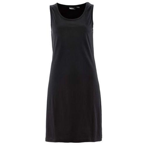 Sukienka shirtowa bonprix czarny, kolor czarny