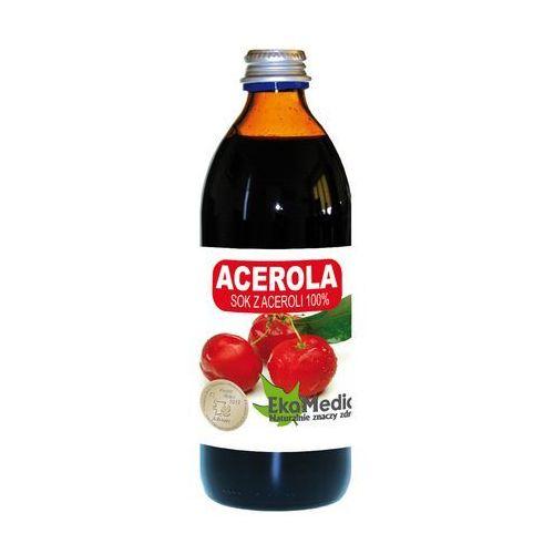 Eko medica Eka medica acerola sok z aceroli 100% 500ml