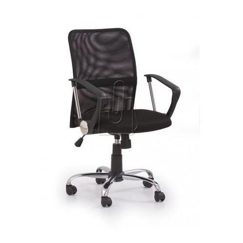 Halmar Fotel pracowniczy tony czarny - gwarancja bezpiecznych zakupów - wysyłka 24h