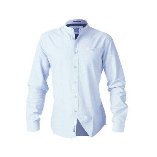 Duke D555 bernard duża koszula męska błękitna