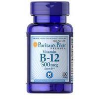 Tabletki Witamina B-12 500 µg / 100 tab