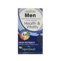 Natures Aid Men Health & Vitality 30caps