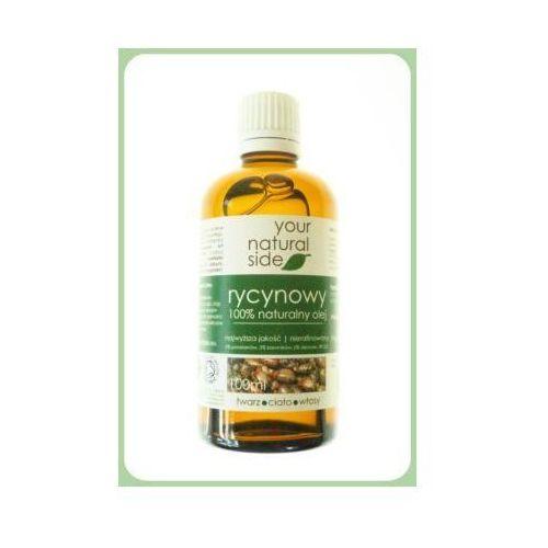 Olej rycynowy nierafinowany organic zakrętka - 100 ml Your natural side