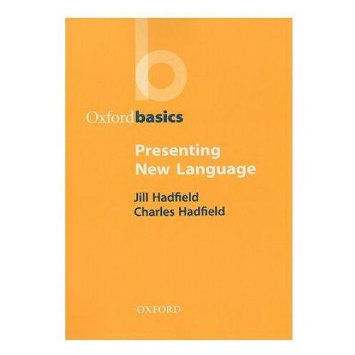 Oxford basics presenting new language, Hadfield
