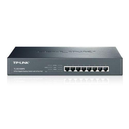 TL-SG1008PE Switch 8 portów Gigabit PoE#43; możliwość montażu w szafie Tp-link, TL-SG1008PE