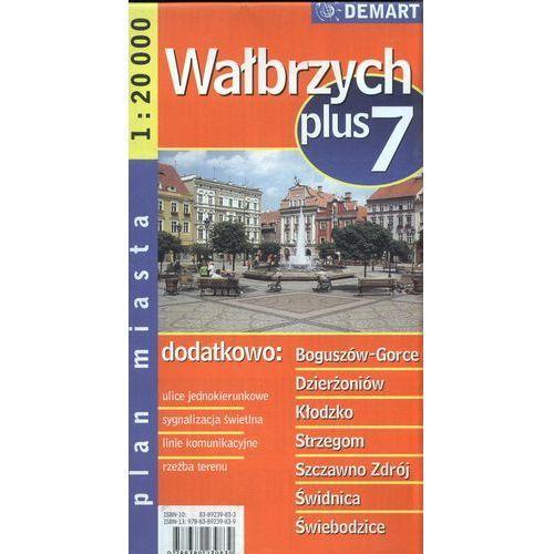 Wałbrzych plus 7 mapa 1:20 000 Demart (2016)