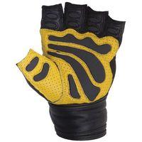 Rękawice kulturystyczne festo | żółte usztywniacz marki Spokey