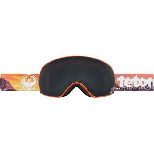 Gogle snowboardowe - x2s - tgr collab/dark smoke + yellow red ion (530) Dragon