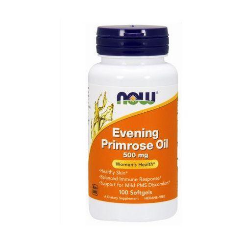 Kapsułki Now Foods Evening Primrose Oil (Olej z nasion wiesiołka) 500mg 100 kaps